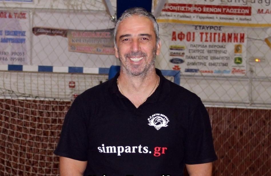 """Ντάνης Τυριακίδης : """"Είμαι σίγουρος πως οι παίκτες μου θα τα δώσουν όλα!"""""""