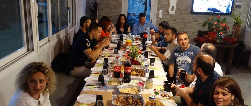 Δείπνο για το φινάλε της σεζόν! (photos)