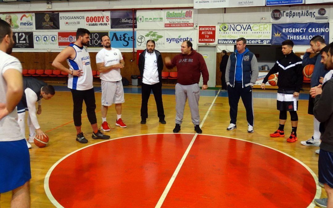 Επιστροφή σε αγωνιστική δράση για τους Αετούς Βέροιας με δύσκολο εκτός έδρας παιχνίδι