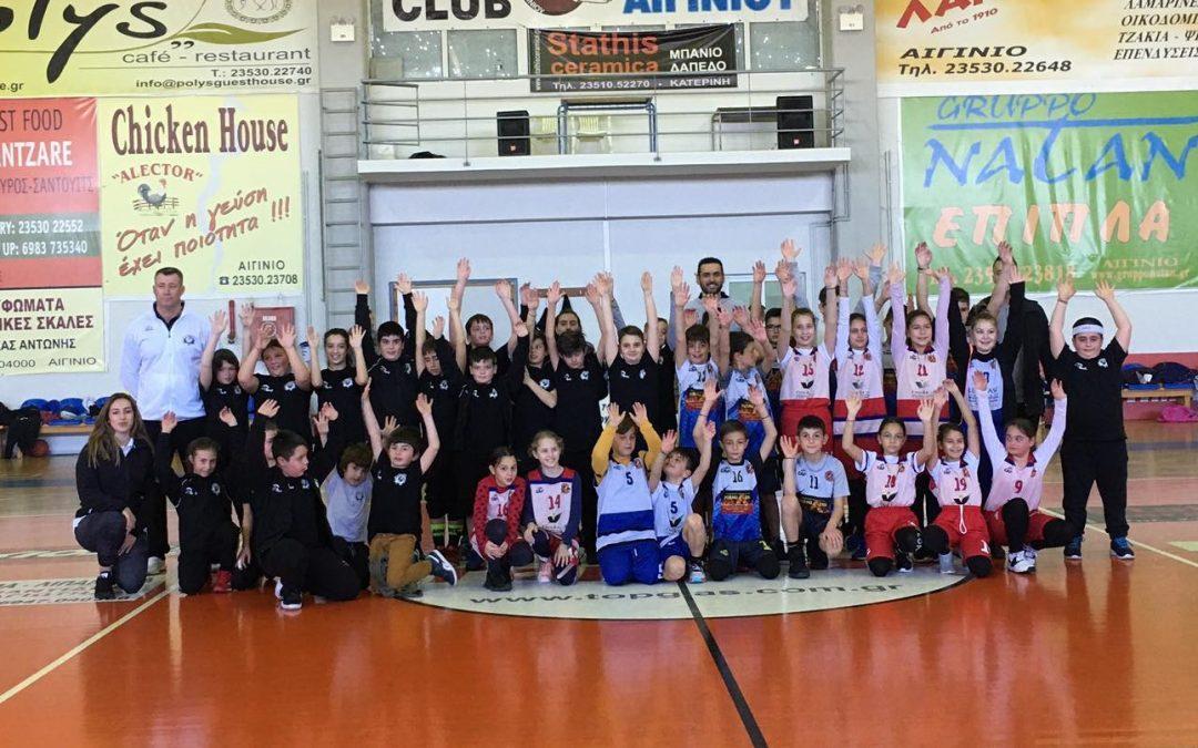 Σπουδαίες εμπειρίες και παραστάσεις για τους μικρούς αθλητές από τους αγώνες στο Αιγίνιο! (photos)