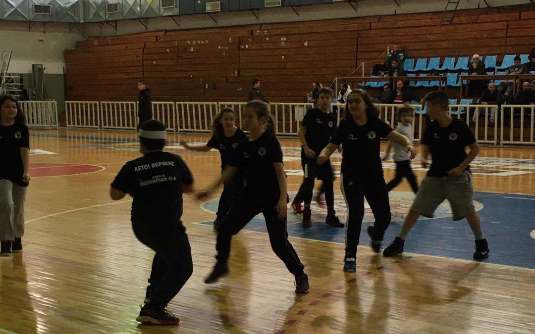 Εντυπωσίασαν οι μικροί αθλητές των Αετών Βέροιας στο ημίχρονο του αγώνα των ανδρών! (photos)