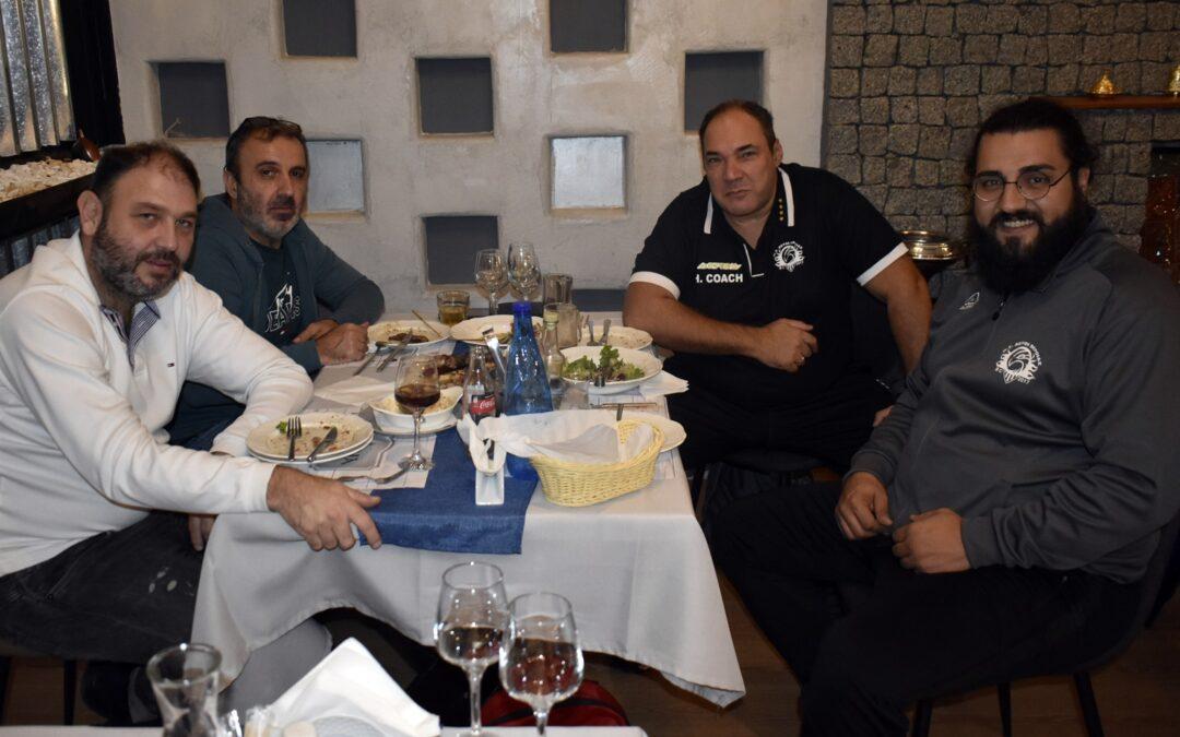 Το δείπνο της διοίκησης σε τεχνικό επιτελείο και αθλητές ενόψει της έναρξης της σεζόν (photos)