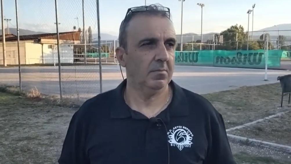 """Σίμος Γαβριηλίδης : """"Να ολοκληρωθεί αισίως η χρονιά και να την απολαύσουμε παίζοντας καλό μπάσκετ"""" (vid)"""